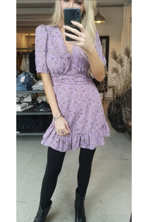 Bloss Beauty Dress - Purple