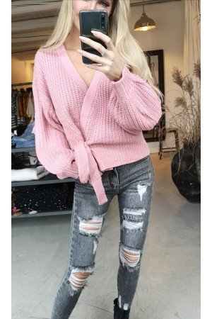 Ami Oversize Knit - Rose