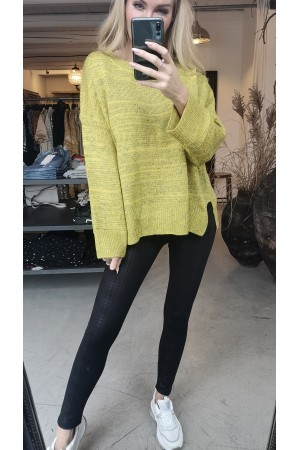 Bella Oversize Knit - Yellow
