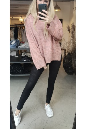 Bella Oversize Knit - Rose