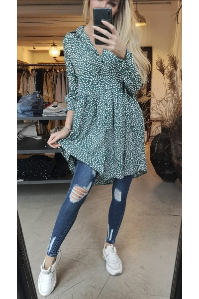 Emma Oversize Dress - Green