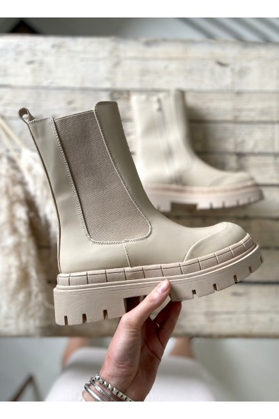 Karly Cool Boots - Beige