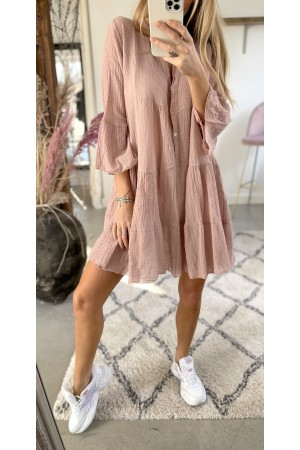 Anna Soft Dress - Rose
