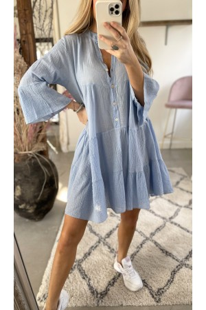 Anna Soft Dress - Blue