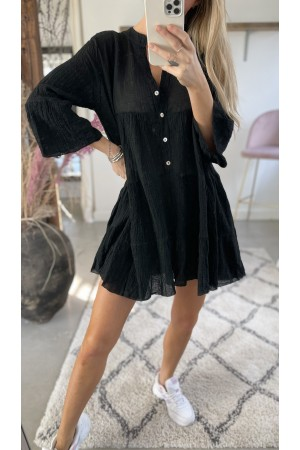 Anna Soft Dress - Black