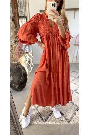 Iben Beauty Dress - Orange