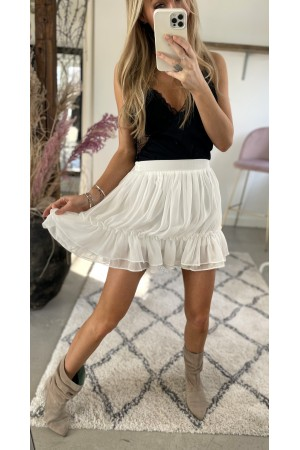 Kenya Beauty Skirt - White