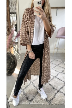 The Packet - Ria Soft leggings + Nelle Kimono