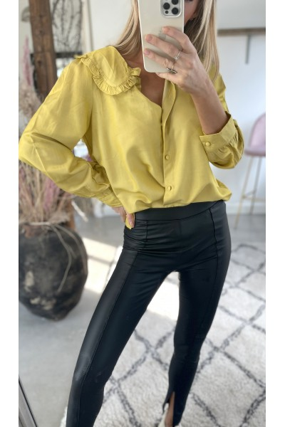 Pernille Cool Shirt - Yellow