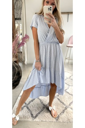Lea Cute Dress - Light Blue