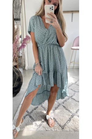 Lea Cute Dress - Green