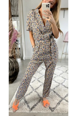 Jada Flower Jumpsuit