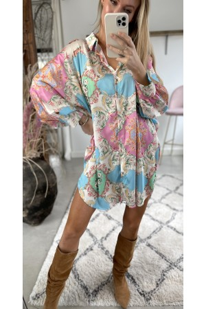 Amalie Oversize Tunic - Light