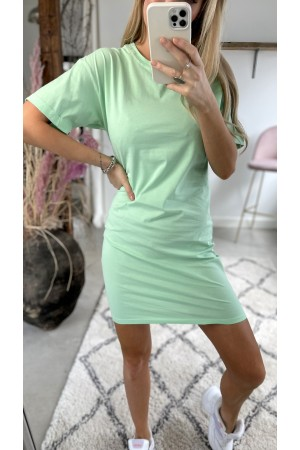 Line Basic Dress - Green
