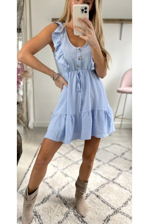 Saseline Dress - Light Blue