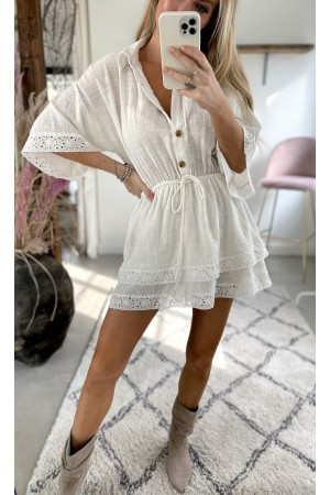 Josefine Tunic - White