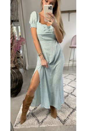 Kelly Long Dress - Mint