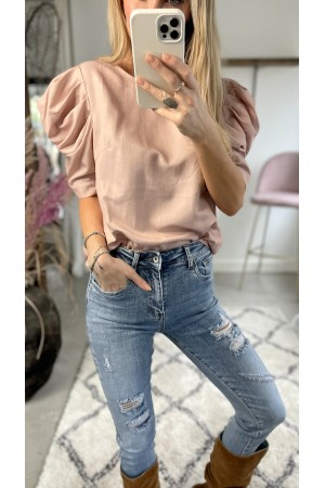 Tanja Simpel Shirt - Rose