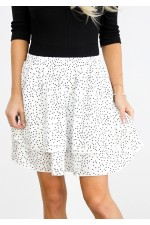 Nola Skirt - White