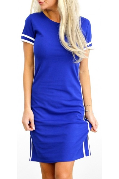 Leslie Dress - Blue