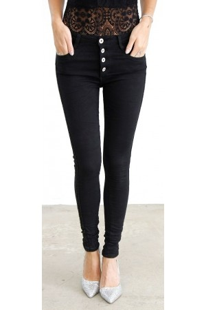 Cilla Soft Pants - Black