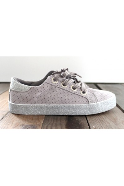 Alia Glimmer Sneakers - Grey