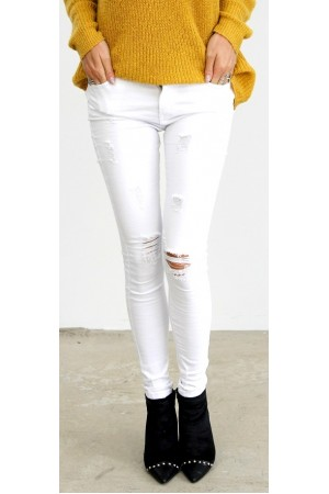 Cimoa Pants - White