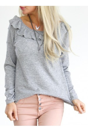 Adelina Soft Knit - Grey