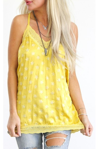Alia Long Top - Yellow