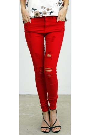 Cimoa Pants - Red
