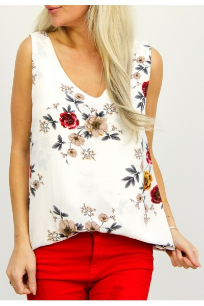 Mila Flower Top