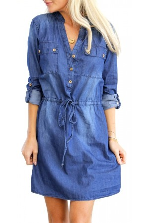 Amisa Denim Dress