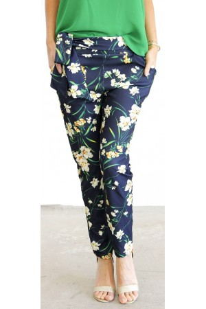 Miri Soft Pants - Flower