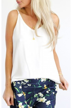 Nola Top - White