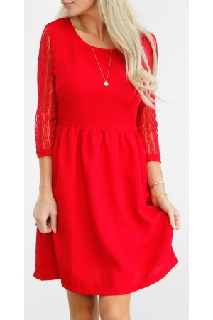 Amida Dress - Red