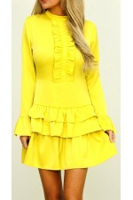 Jino Beauty Dress - Yellow