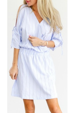 Zani Stripe Dress