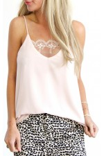Vilda Top - Light Rose