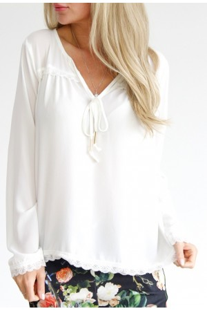 Ella Shirt - White
