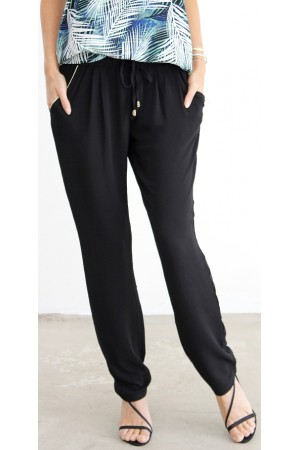 Candis Loose Pants - Black