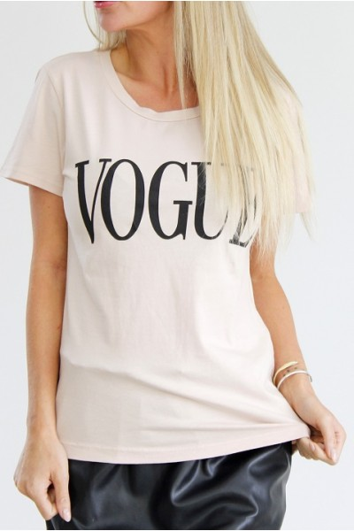 Vogue T-Shirt - Old Rose