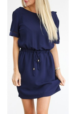 Lyda Dress - Marine