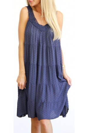 Nelle Dress - Marine