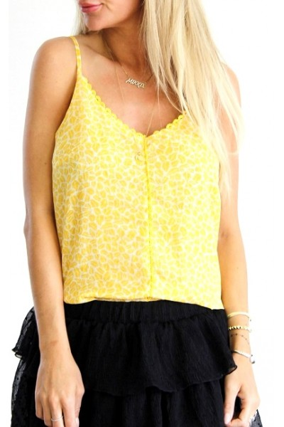 Tipi Beauty Top - Yellow
