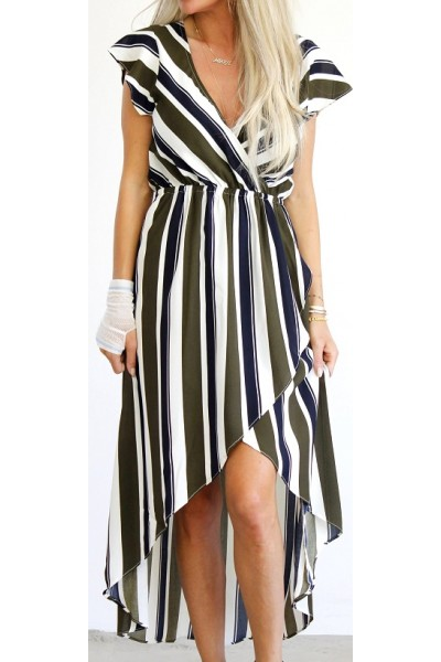 Liva Stripe Dress
