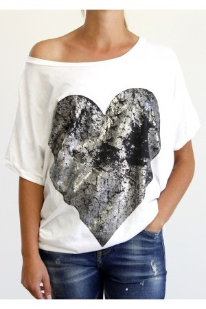Big Heart Shirt - Black
