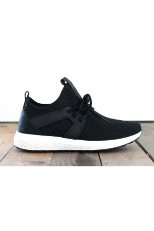 Soft Sneakers - Black