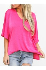 Ania Shine Shirt - Pink