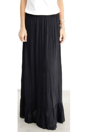 Calia Long Skirt - Black