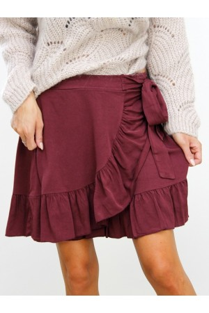 Frina Skirt - Bordeaux